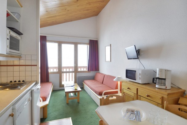Location vacances Mâcot-la-Plagne -  Appartement - 6 personnes - Lecteur DVD - Photo N° 1