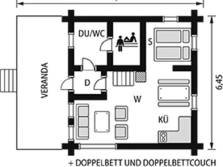 Maison pour 6 à Rautavaara