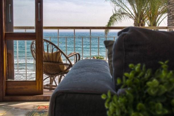 S6 - Duplex face de la plage avec vue sur la Mer - Appartements à louer à Sitges, Catalogne, Espa...