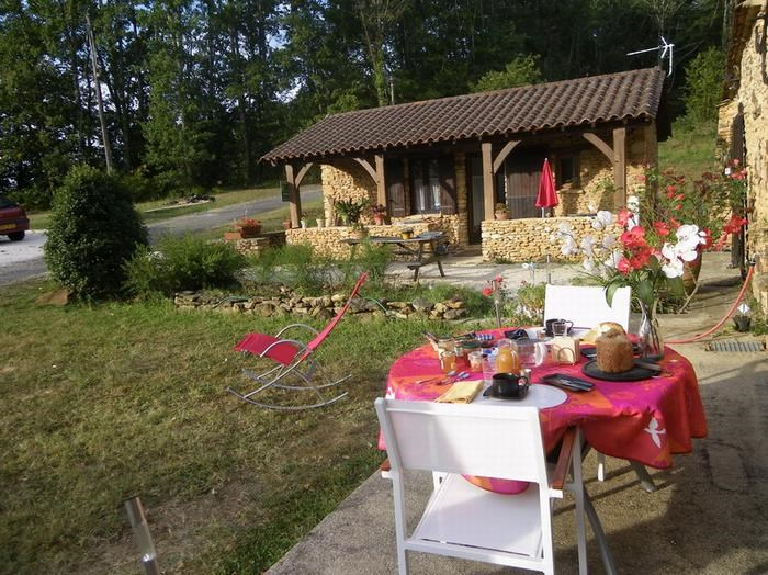Location vacances Journiac -  Gite - 2 personnes - Barbecue - Photo N° 1