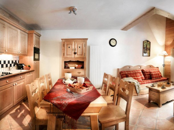 Location vacances Sainte-Foy-Tarentaise -  Appartement - 6 personnes - Billard - Photo N° 1