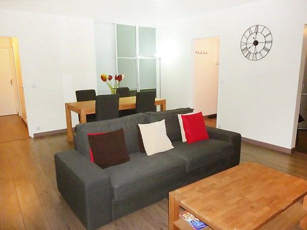 Location vacances Asnières-sur-Seine -  Appartement - 6 personnes - Télévision - Photo N° 1