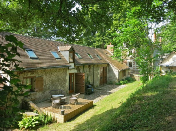 Location vacances Onzain -  Maison - 4 personnes - Barbecue - Photo N° 1