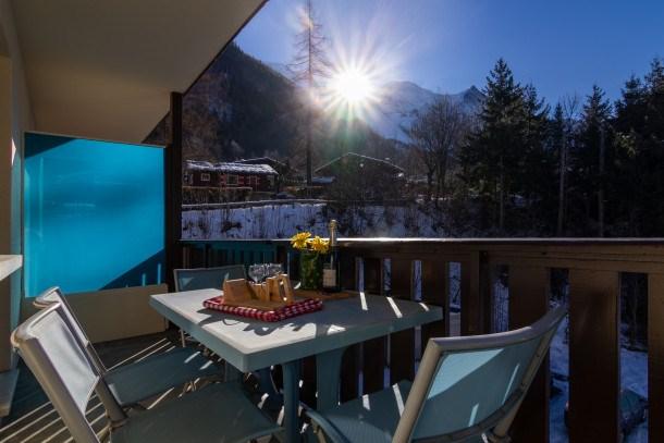 Location vacances Chamonix-Mont-Blanc -  Appartement - 2 personnes - Balcon - Photo N° 1