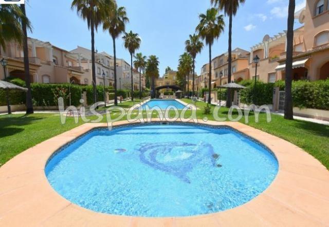 Location d'un appartement coquet pour 2 avec piscine à Javea |we5014