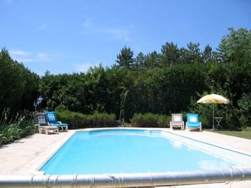 Location vacances Grospierres -  Appartement - 2 personnes - Chaise longue - Photo N° 1