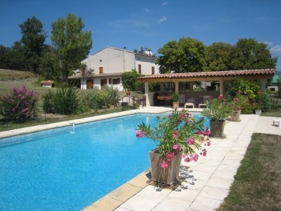 Holiday rentals Mirabel-et-Blacons - Cottage - 8 persons - BBQ - Photo N° 1