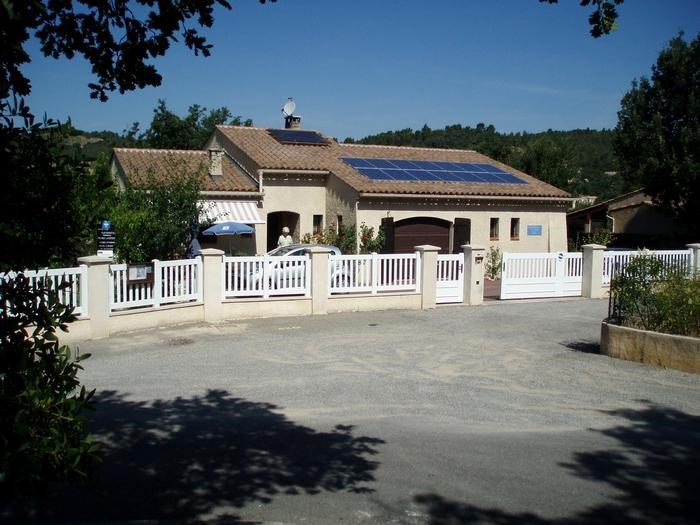 Villa dans laquelle se trouve le studio