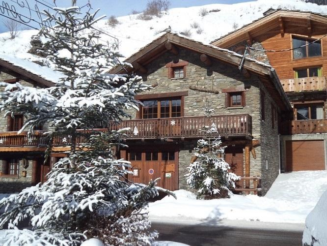 Location vacances Lanslebourg-Mont-Cenis -  Maison - 8 personnes - Salon de jardin - Photo N° 1