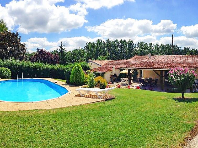 Location vacances Barbezieux-Saint-Hilaire -  Maison - 6 personnes -  - Photo N° 1