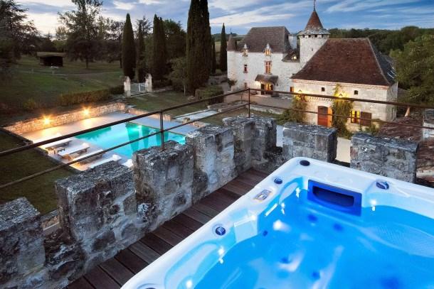 Location vacances Saint-Caprais-de-Lerm -  Maison - 18 personnes - Barbecue - Photo N° 1