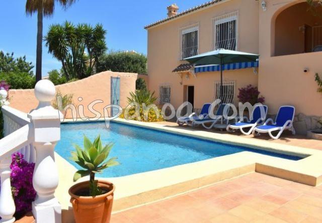 Location villa Costa Blanca à Javea pour 6 personnes  5043-2