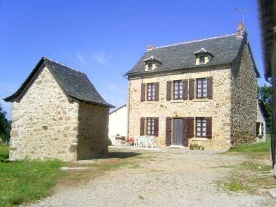 LODGING OF CHARM IN AVEYRON - Lanuejouls