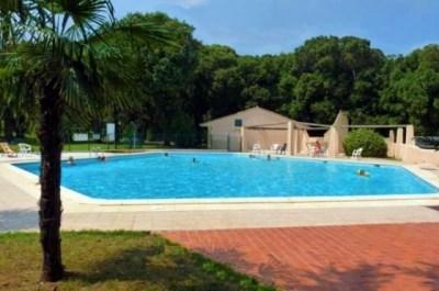 Mini-villa climatisée, bord de mer, parc, piscine - Moriani Plage