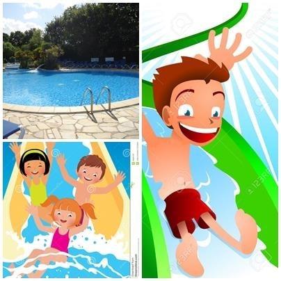 Mobil Home pour 4 pers. avec piscine, Saint-Nazaire