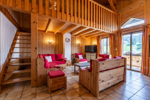Location vacances Les Gets -  Appartement - 8 personnes - Télévision - Photo N° 1