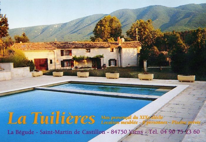 Location vacances Saint-Martin-de-Castillon -  Maison - 8 personnes - Barbecue - Photo N° 1