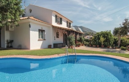 Location vacances Mijas -  Maison - 8 personnes - Barbecue - Photo N° 1