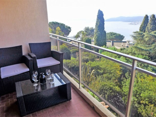 Location vacances Le Lavandou -  Appartement - 6 personnes - Barbecue - Photo N° 1