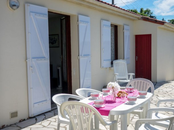 Location vacances Meschers-sur-Gironde -  Maison - 6 personnes - Télévision - Photo N° 1