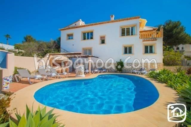 Holiday rentals Teulada - House - 8 persons - BBQ - Photo N° 1