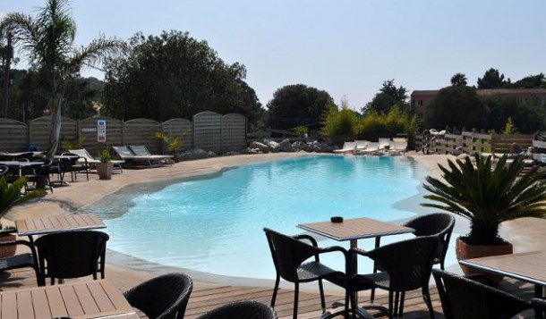 Camping Le COLOMBA PROPRIANO Chalet 3p 5pers