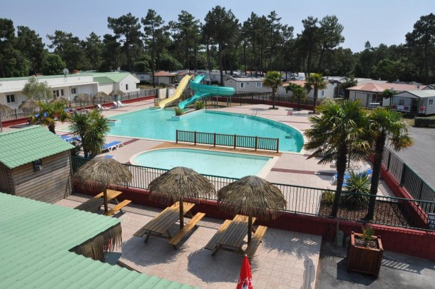 Camping Le California - CHALET PILI PILI 2 chambres