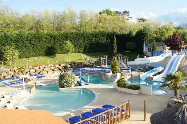 Camping l'Escapade 4* - Mh 2 ch 4/6pers
