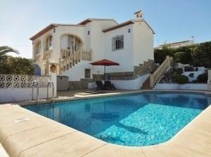 Benitachell,Costa Blanca: Jolie villa 6pers,piscine privée,