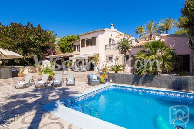 Superbe villa sur la Costa Blanca en location à Benissa |elsal