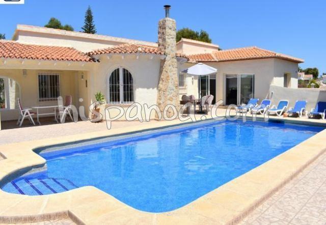 Location villa avec piscine 6 personnes costa blanca - A Javea   wvsa