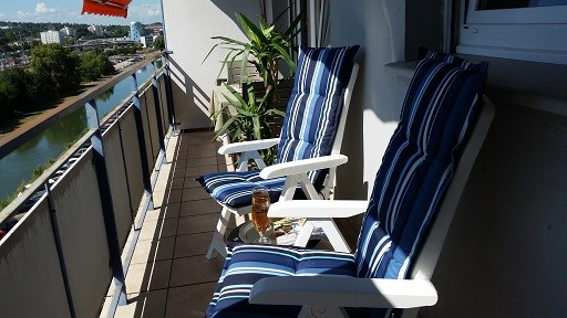 Holiday rentals Mulhouse - Cottage - 3 persons - Deck chair - Photo N° 1