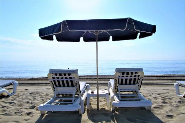 Grand studio cabine en front de mer