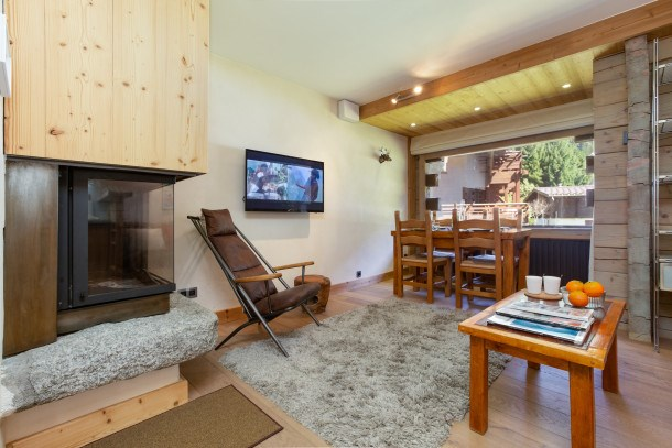 Location vacances Chamonix-Mont-Blanc -  Appartement - 4 personnes - Barbecue - Photo N° 1
