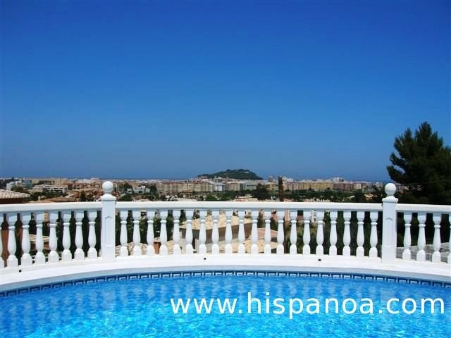 Location climatisée Costa Blanca - villa moderne avec belle vue mer |li