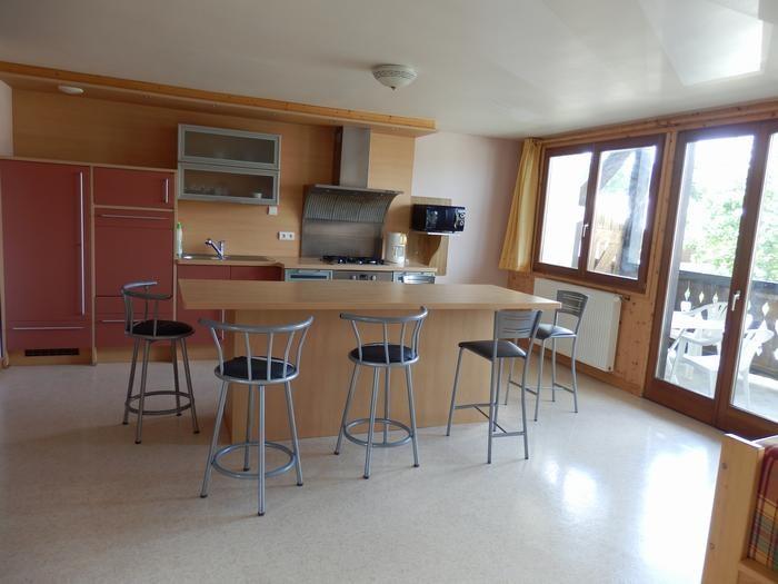Alquileres de vacaciones Lajoux - Apartamento - 6 personas - Jardín - Foto N° 1