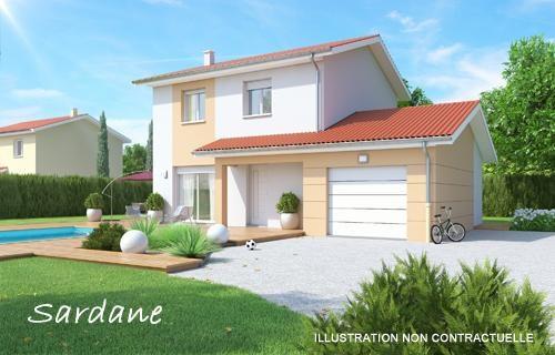 Maison  4 pièces + Terrain 437 m² Pont de Chéruy (38230) par BATI EST