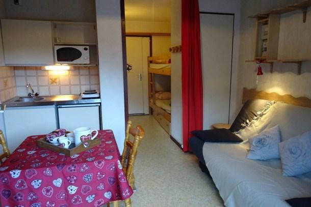 Location vacances Bourg-Saint-Maurice -  Appartement - 2 personnes - Télévision - Photo N° 1