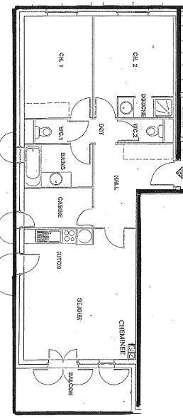 Appartement 3 pièces 8 personnes (01)