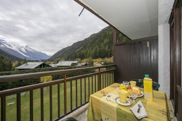 Location vacances Chamonix-Mont-Blanc -  Appartement - 3 personnes - Barbecue - Photo N° 1