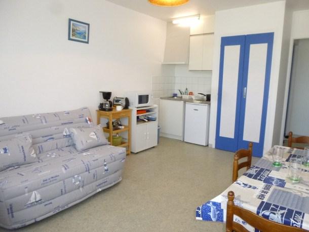Location vacances Saint-Jean-de-Monts -  Appartement - 2 personnes - Télévision - Photo N° 1