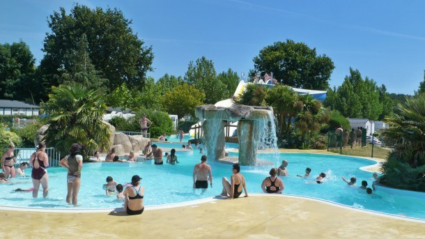 Camping le Rosnual  - Mh 3ch 7pers (+7ans) + Terrasse Bois
