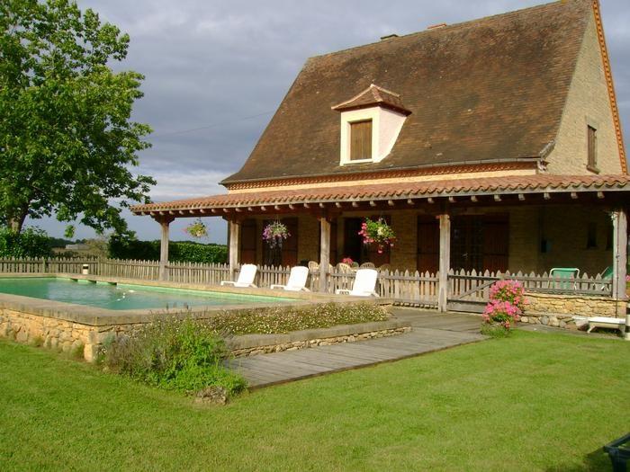 Location vacances Calès -  Maison - 8 personnes - Barbecue - Photo N° 1