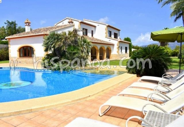 Holiday rentals Jávea/Xàbia - House - 10 persons - BBQ - Photo N° 1