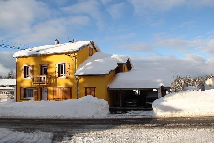 la maison façade sud