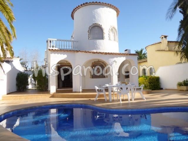 Location vacances Castelló d'Empúries -  Maison - 8 personnes - Télévision - Photo N° 1