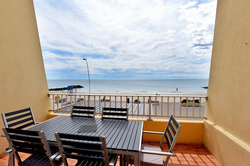 Location vacances Palavas-les-Flots -  Appartement - 6 personnes - Chaise longue - Photo N° 1