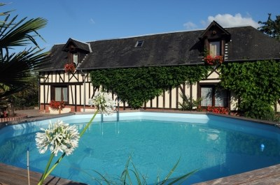 Holiday rentals Épreville-en-Lieuvin - Cottage - 50 persons - BBQ - Photo N° 1