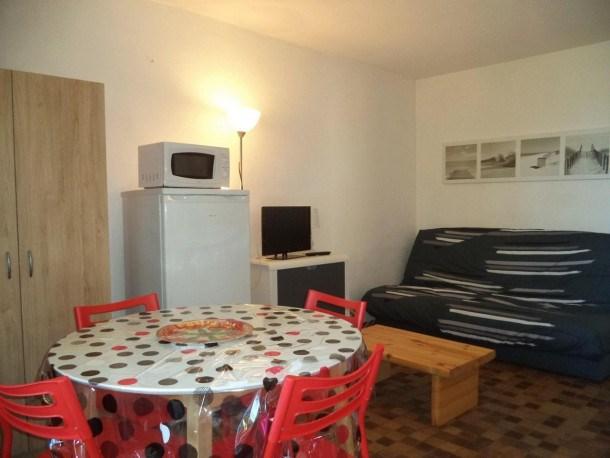 Appartement 2 pièces, 4 couchages, Narbonne Plage