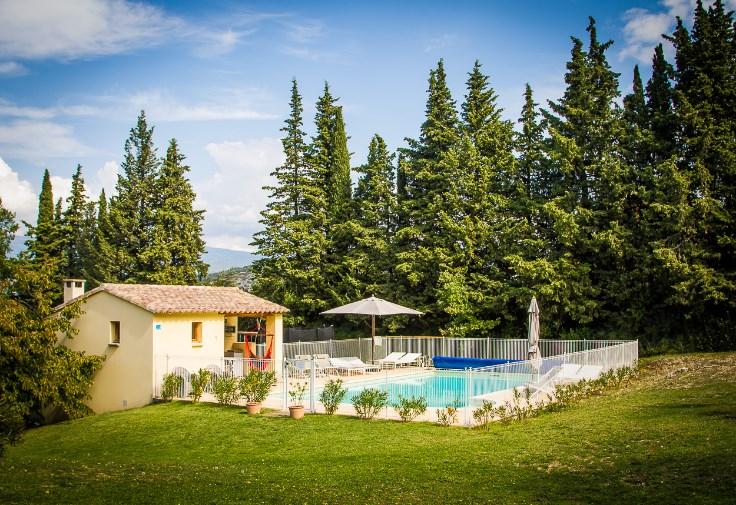 Vakantiewoning aan Mont Ventoux, 7 slk, 6 badk